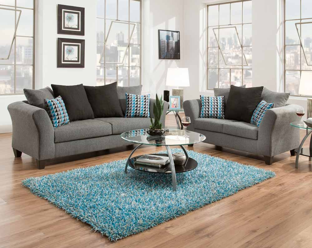 Sottile Gray Sofa Loveseat American Freight This Home Living in 10 Awesome Designs of How to Makeover American Freight Living Room Sets