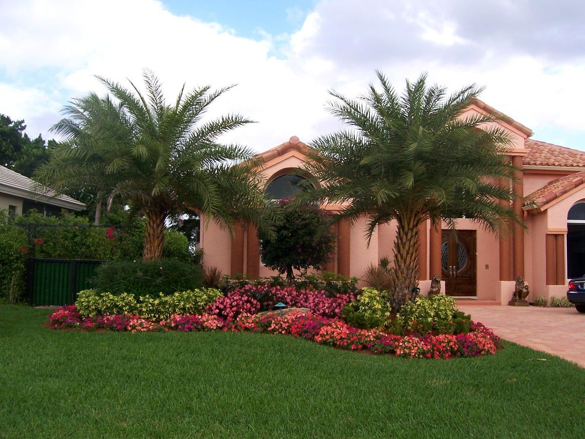 South Florida Landscape Ideas Landscaping Ideas For Front Yard In throughout Florida Backyard Landscaping
