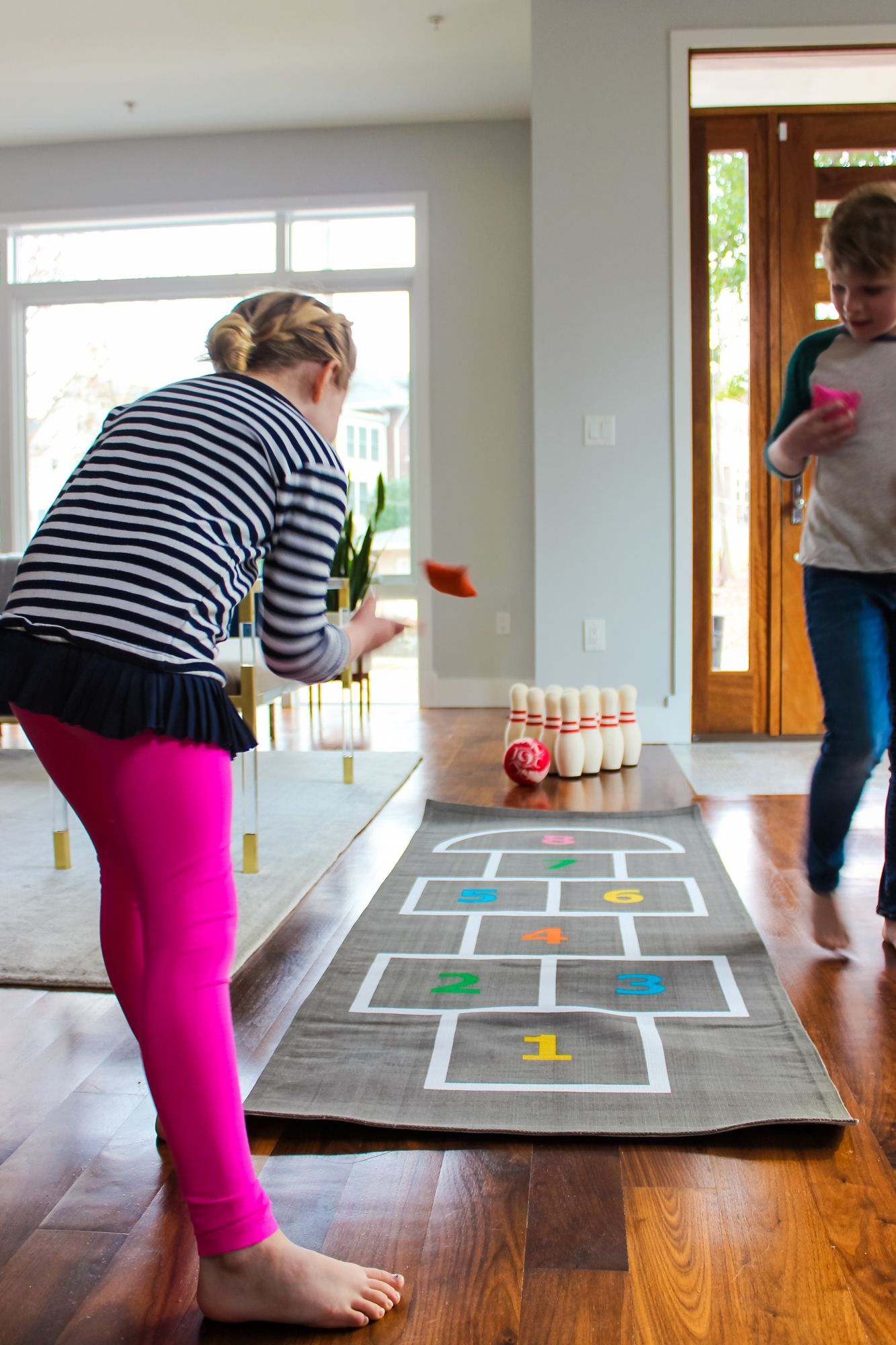 Staying Active Indoors Shop The Look Pinterest Games Indoor intended for 12 Genius Concepts of How to Make Living Room Lanes Bowling Set