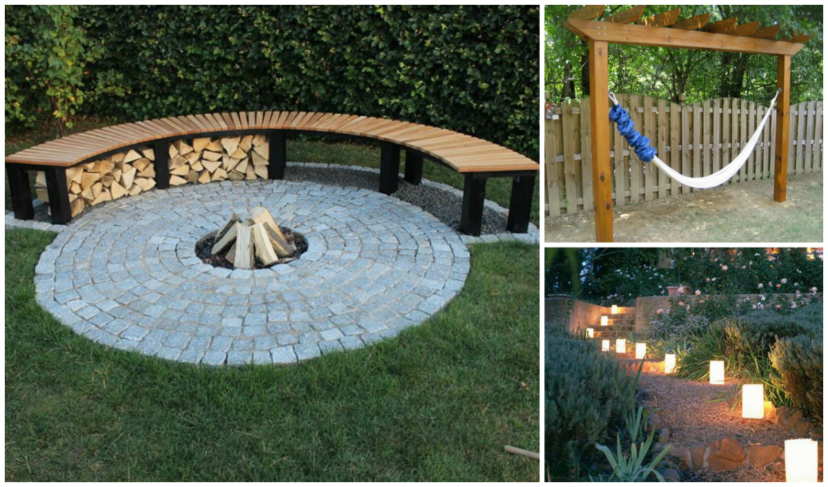 Summer Time Backyard Diy Projects Youll Go Crazy For intended for 14 Clever Tricks of How to Improve Backyard Summer Ideas
