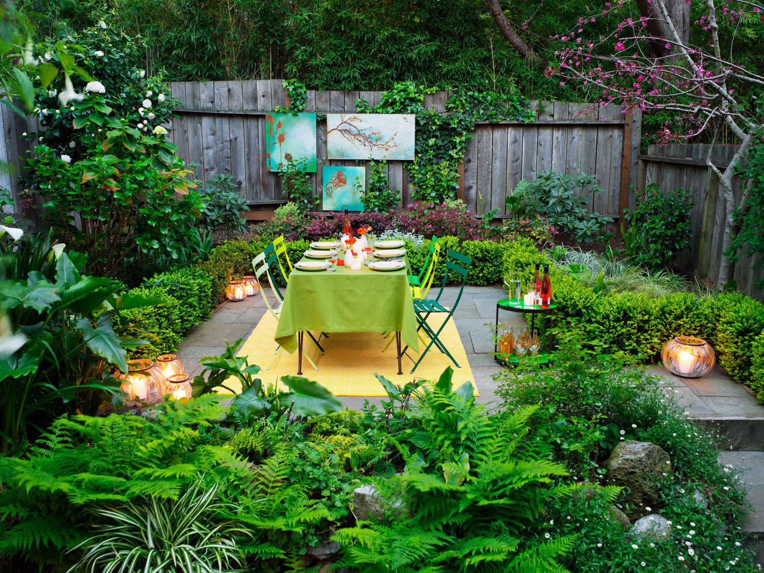 Sunset Magazine with 11 Smart Ideas How to Build Decorating Backyard Ideas
