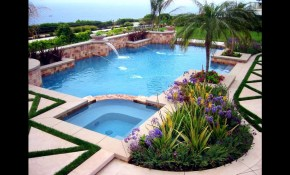 Swimming Pool Landscaping Ideas For Backyard Youtube with 13 Genius Ways How to Makeover Backyard Ideas With Pool