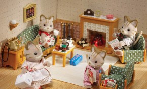 Sylvanian Families Deluxe Living Room Set Jadrem Toys within 12 Some of the Coolest Tricks of How to Improve Sylvanian Families Cosy Living Room Set