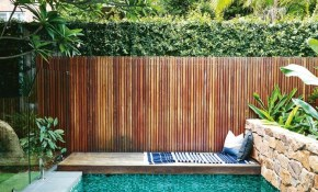 This Compact Sydney Garden Is Inspired Bali Awesome Inground within 15 Genius Designs of How to Make Backyard Pool Fence Ideas