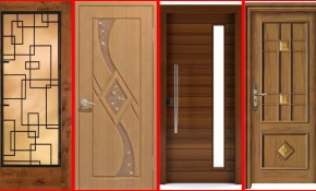 Top 40 Modern Wooden Door Designs For Home 2018 Main Door Design regarding Modern Bedroom Door Designs