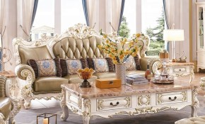 Top Luxury Royal French Style Wood Beautiful Sofa Set Price For with regard to French Style Living Room Set