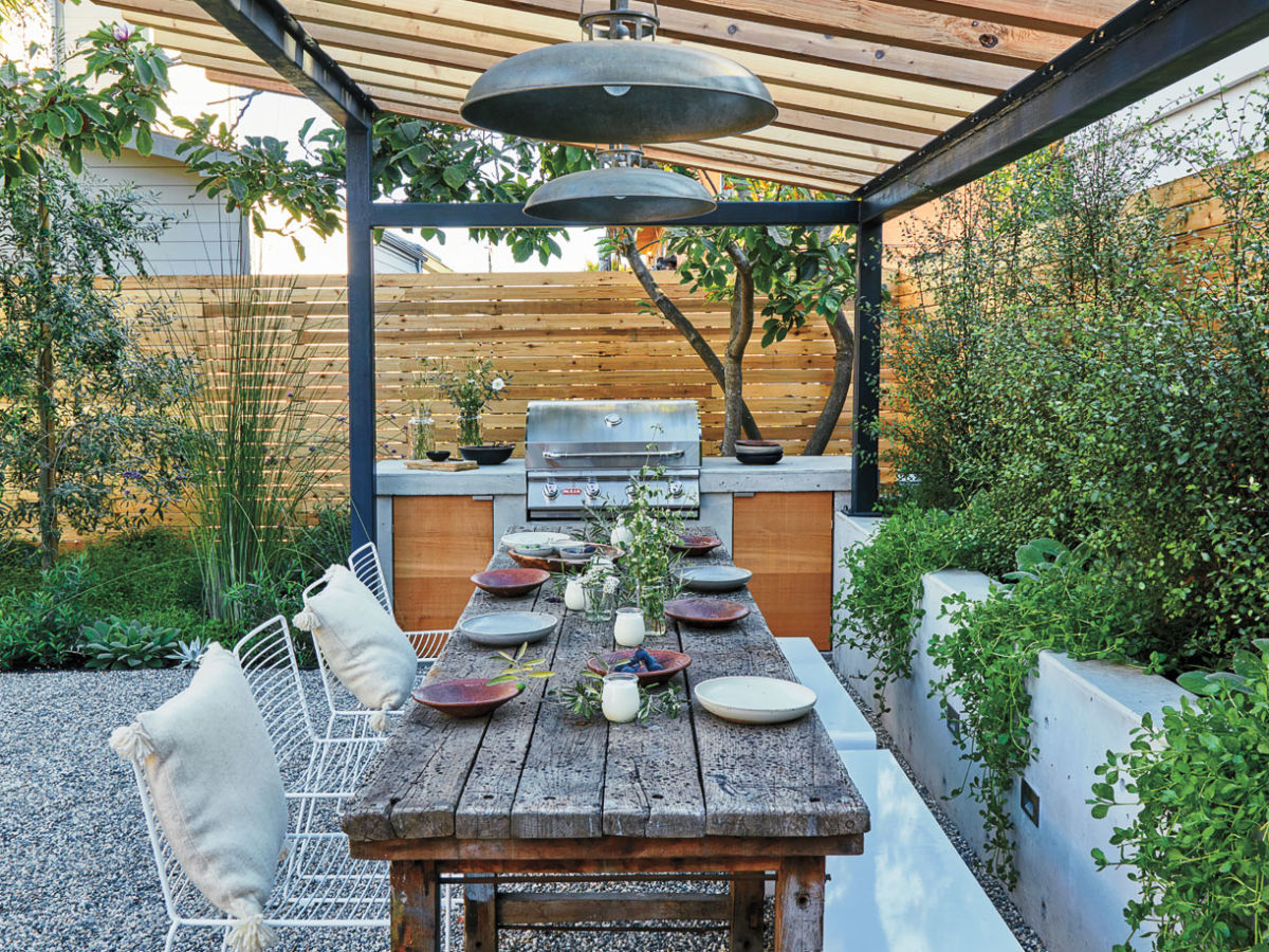 Transform A Yard With These Genius Hardscape Ideas Sunset Magazine throughout 10 Some of the Coolest Concepts of How to Build Hardscape Backyard Ideas