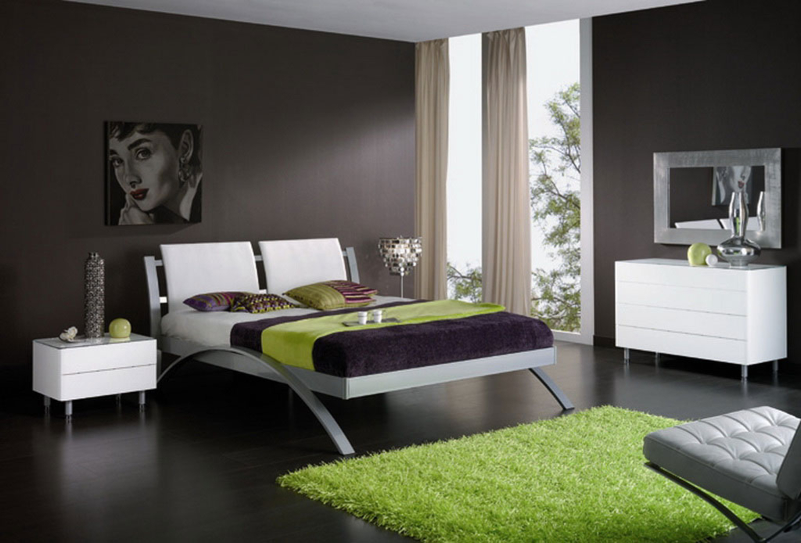 Ultra Modern Bedroom Contemporary Designs Tierra Este 27150 regarding 10 Clever Ways How to Build Ultra Modern Bedrooms
