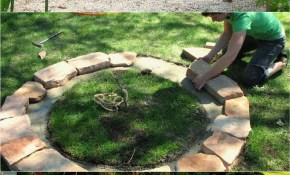 Value Fire Pit Designs Rustic Diy Ideas Med Art Home Design Posters pertaining to 12 Smart Tricks of How to Make Backyard Landscaping With Fire Pit