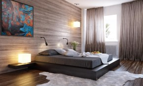 Viewing Modern Minimalist Bedroom Design Ideas Black Bed Wood regarding 14 Awesome Concepts of How to Build Modern Minimalist Bedroom