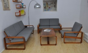 Vintage Living Room Set 1970s For Sale At Pamono intended for 14 Genius Concepts of How to Improve Vintage Living Room Set