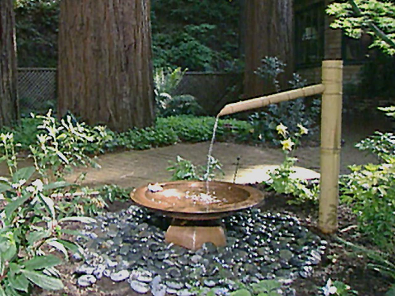 Water Features Any Budget Landscaping Ideas Tierra Este 98955 within Backyard Water Fountains Ideas