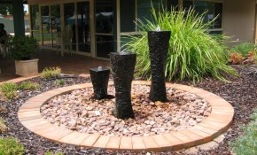 Water Fountain Ideas Garden Homsgarden in Backyard Water Fountains Ideas
