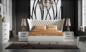 White Contemporary Bedroom Mesavirre inside 10 Clever Ways How to Improve Black Modern Bedroom Set