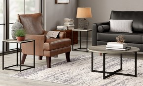 Williston Forge Wing Wadeworth 3 Piece Coffee Table Set Reviews in 15 Clever Tricks of How to Makeover Three Piece Living Room Table Set