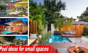 Wow Pool Ideas For Small Spaces To Turn The Backyard Into A for 11 Genius Initiatives of How to Craft Backyard Ideas For Small Spaces