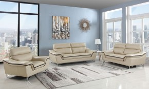 Wraith Beige Leather Sofa pertaining to 10 Clever Designs of How to Make Beige Leather Living Room Set