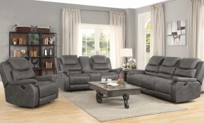 Wyatt 2 Piece Living Room Set Grey Coaster Fine Furniture throughout Cheap 2 Piece Living Room Sets
