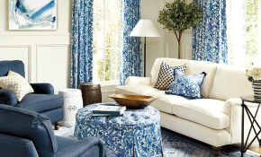 10 Living Rooms Without Coffee Tables Living Room Ideas Blue intended for White Living Room Set