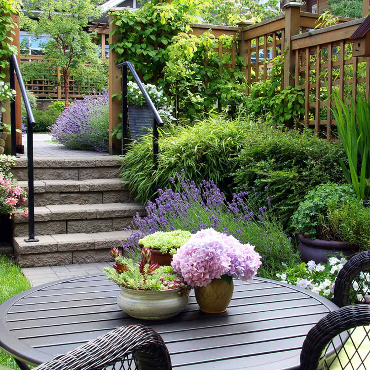 14 Small Yard Landscaping Ideas To Impress Family Handyman for Landscaping Ideas For A Small Backyard