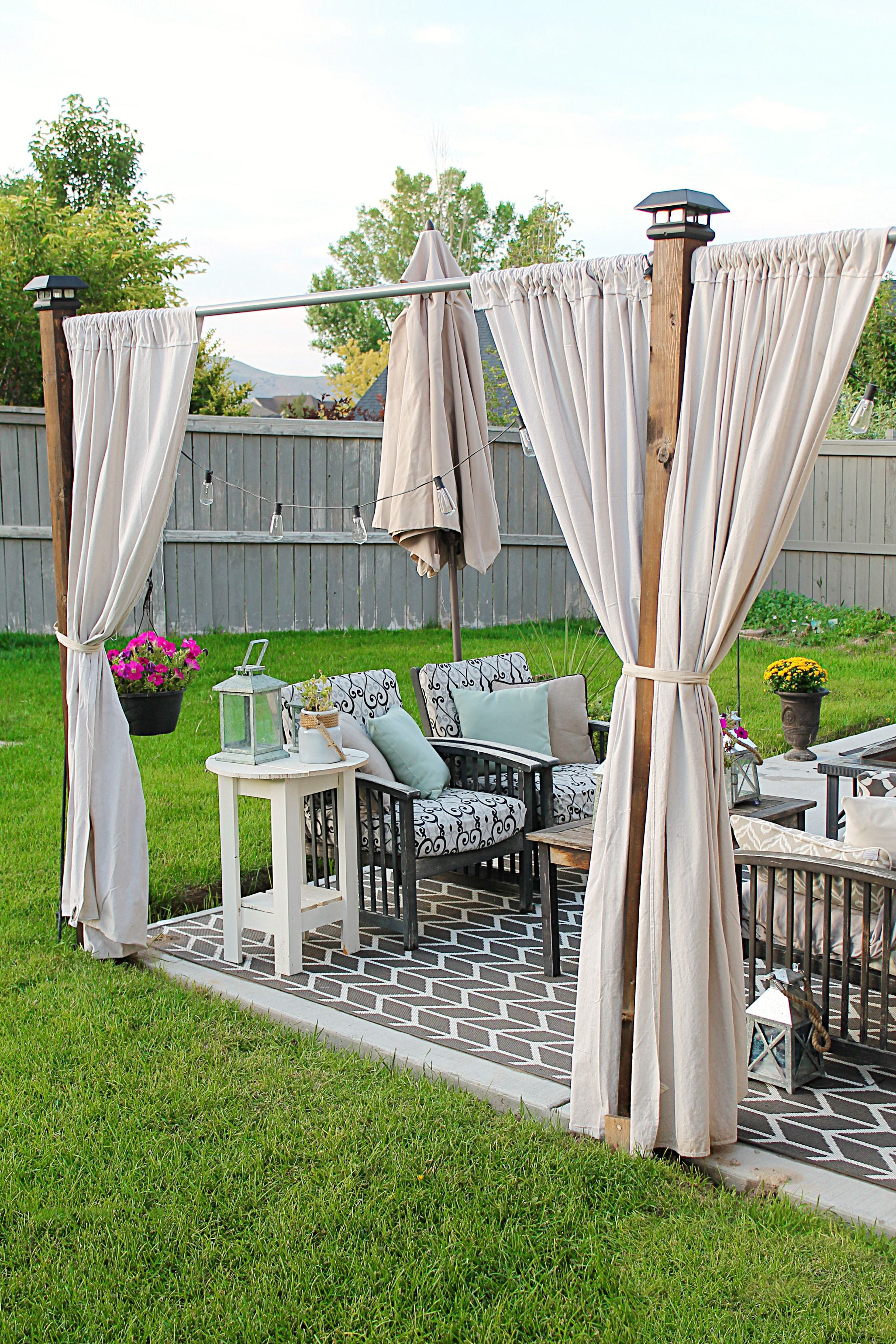 15 Ways To Gain Privacy In Your Yard for Backyard Privacy Ideas Cheap