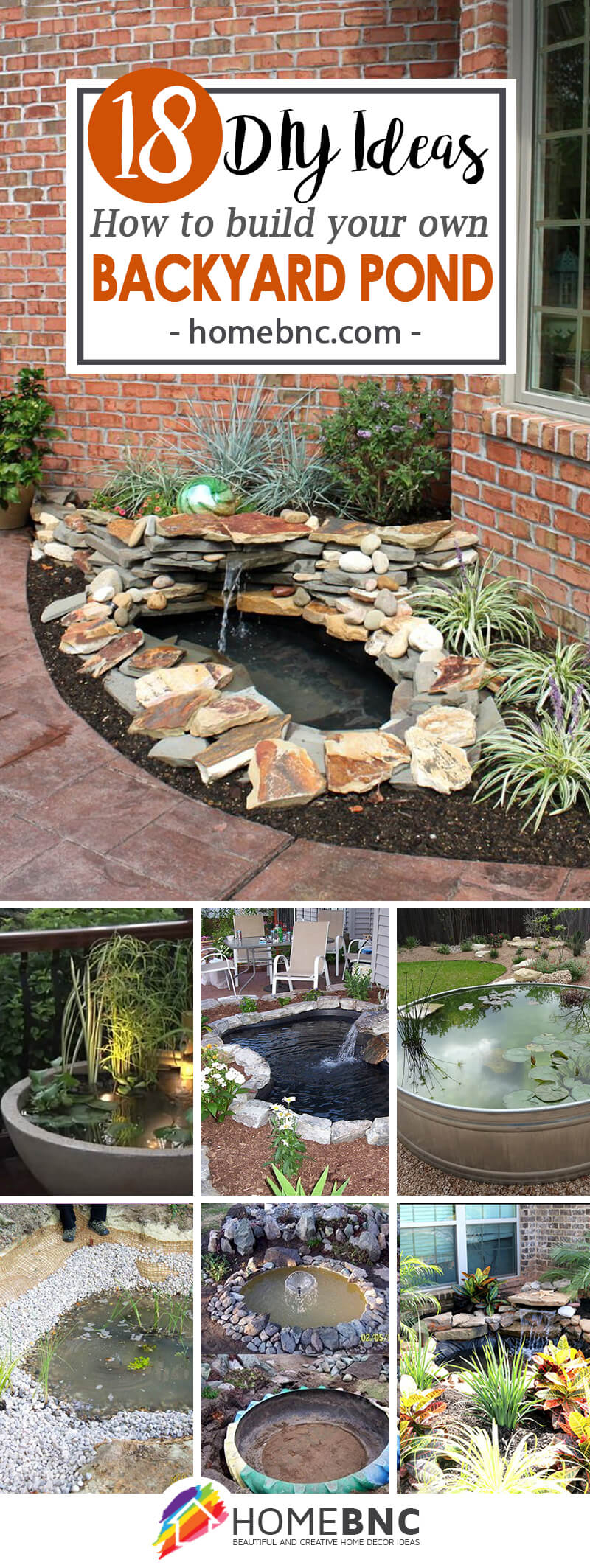 18 Best Diy Backyard Pond Ideas And Designs For 2019 for Diy Backyard Pond Ideas