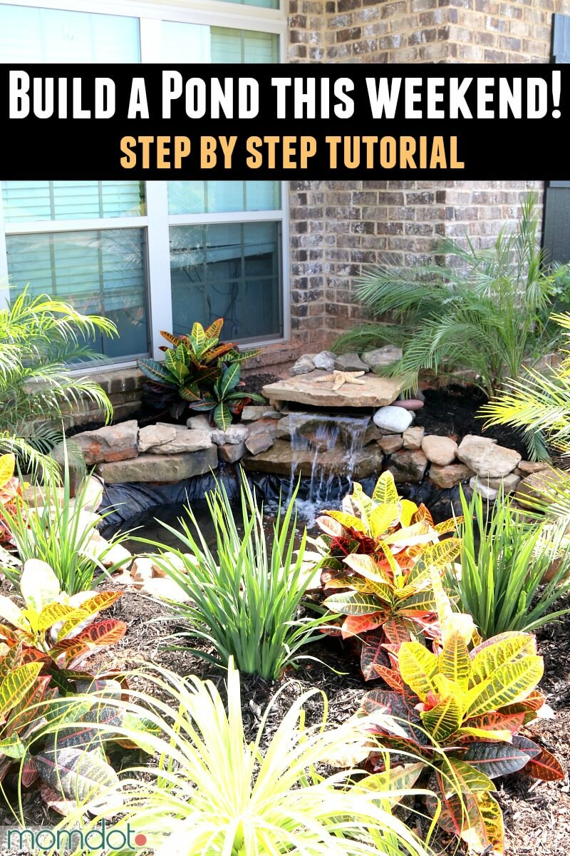 18 Best Diy Backyard Pond Ideas And Designs For 2019 pertaining to Diy Backyard Pond Ideas
