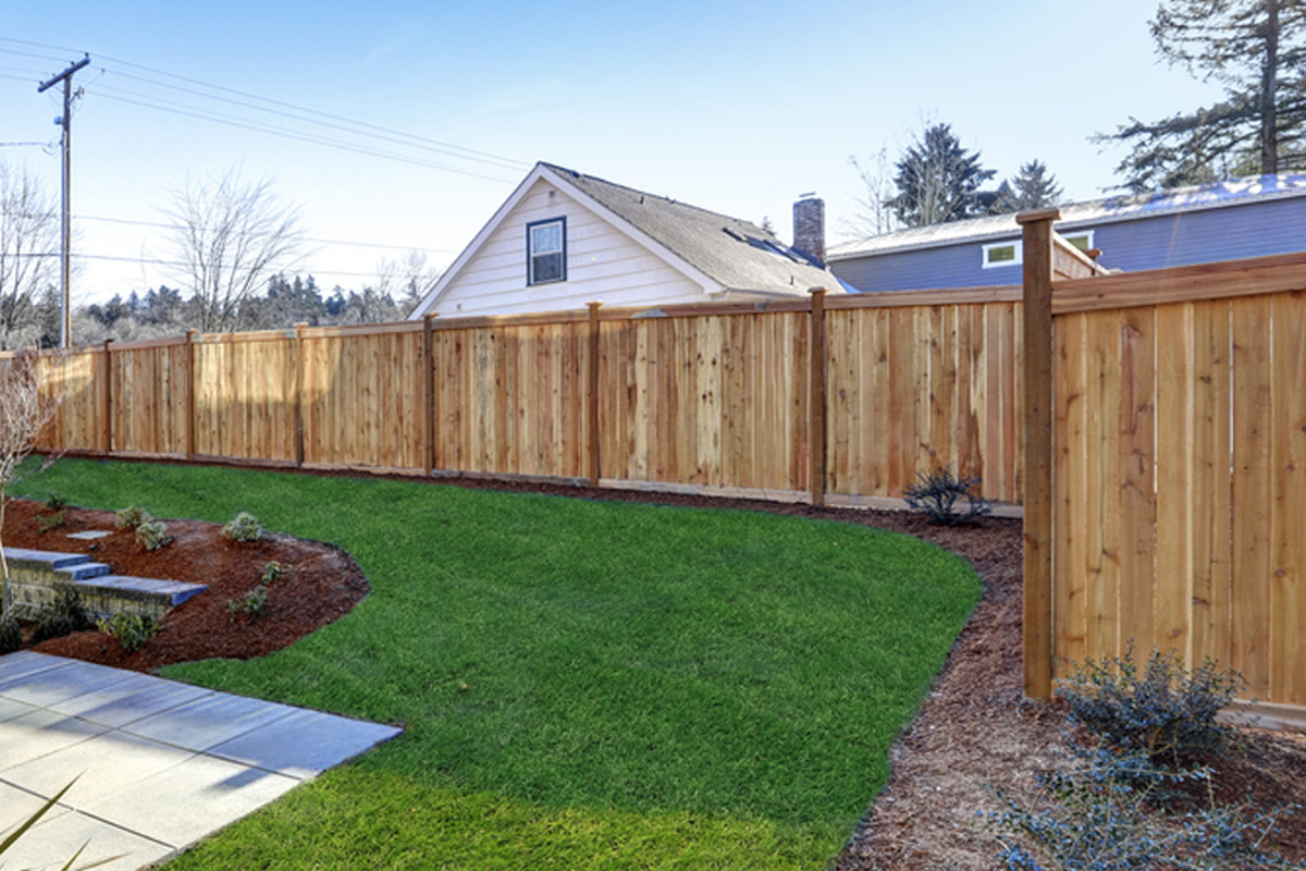 2019 Wood Fence Costs Cost To Install Privacy Fence Per Foot within Cost To Fence A Backyard