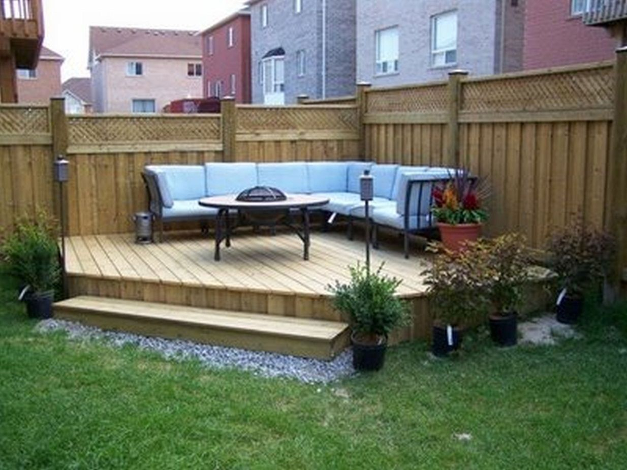 25 Landscape Design For Small Spaces Garden Design Small throughout Deck And Patio Ideas For Small Backyards