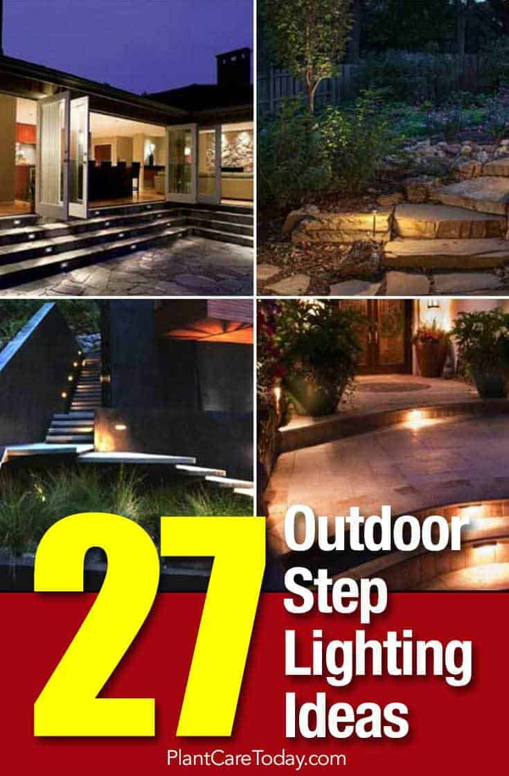 27 Outdoor Step Lighting Ideas That Will Amaze You pertaining to 13 Smart Tricks of How to Improve Backyard Steps Ideas