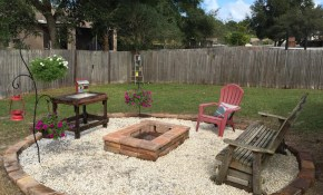 28 Best Round Firepit Area Ideas And Designs For 2019 inside 13 Smart Ways How to Craft Backyard Rock Fire Pit Ideas
