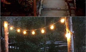28 Stunning Diy Outdoor Lighting Ideas So Easy A Piece Of for 12 Smart Designs of How to Makeover Backyard Solar Lighting Ideas