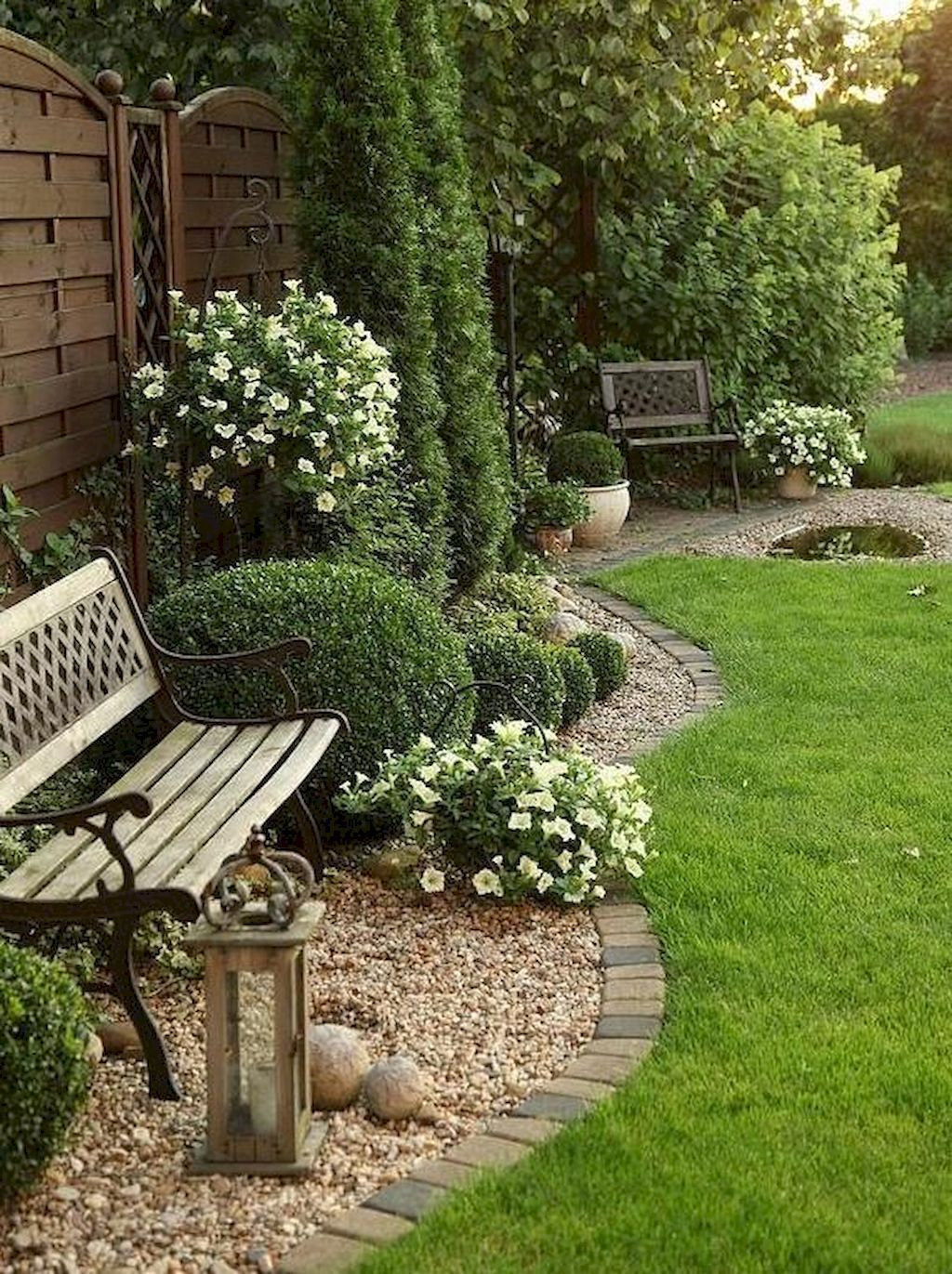 40 Best Backyards Ideas With Simple Modern And Natural Design pertaining to Backyard Gardens Ideas
