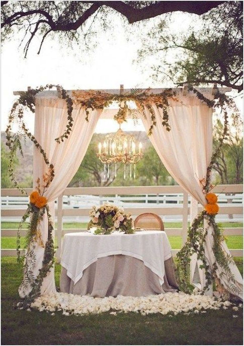 42 Inspiring Backyard Wedding Decor Ideas Carrebianhome for 11 Awesome Concepts of How to Improve Backyard Wedding Decoration Ideas