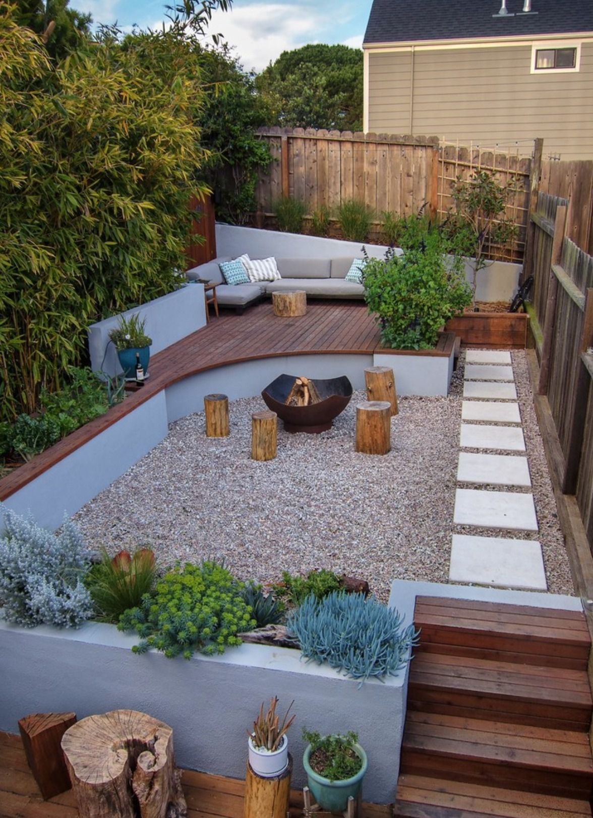 50 Backyard Landscaping Ideas To Inspire You for 13 Smart Concepts of How to Upgrade Backyard Hill Ideas