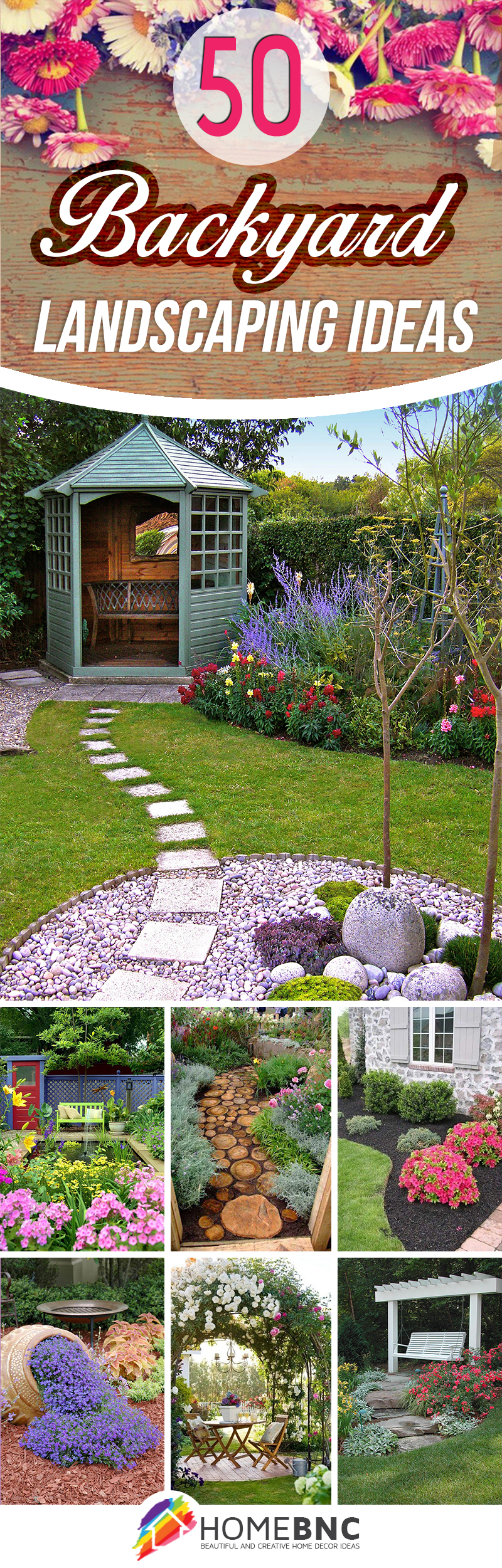 50 Best Backyard Landscaping Ideas And Designs In 2019 for 15 Clever Ways How to Craft Garden Ideas Backyard