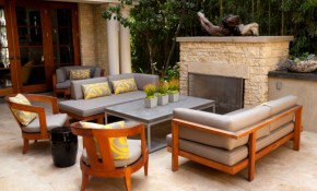 50 Outdoor Living Room Design Ideas intended for Outdoor Living Room Set