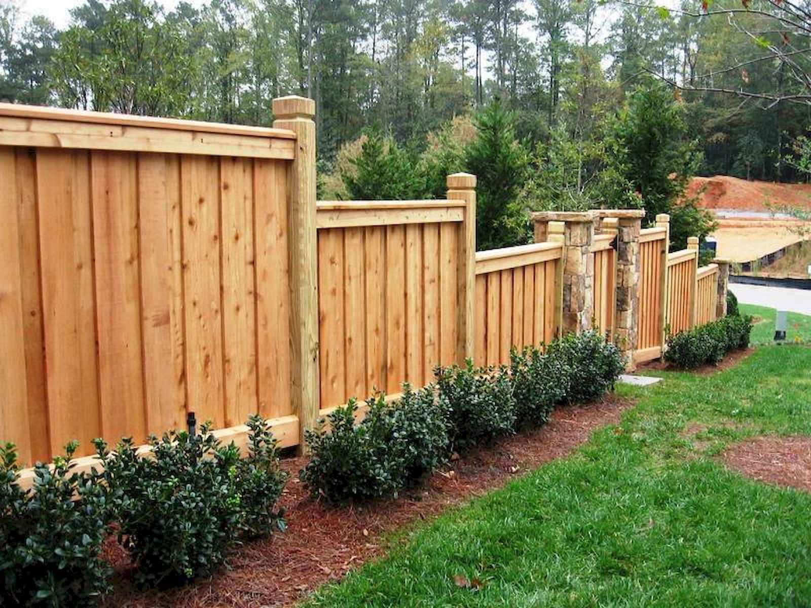 50 Stunning Backyard Privacy Fence Ideas Decorations And Remodel 34 regarding Backyard Privacy Fence