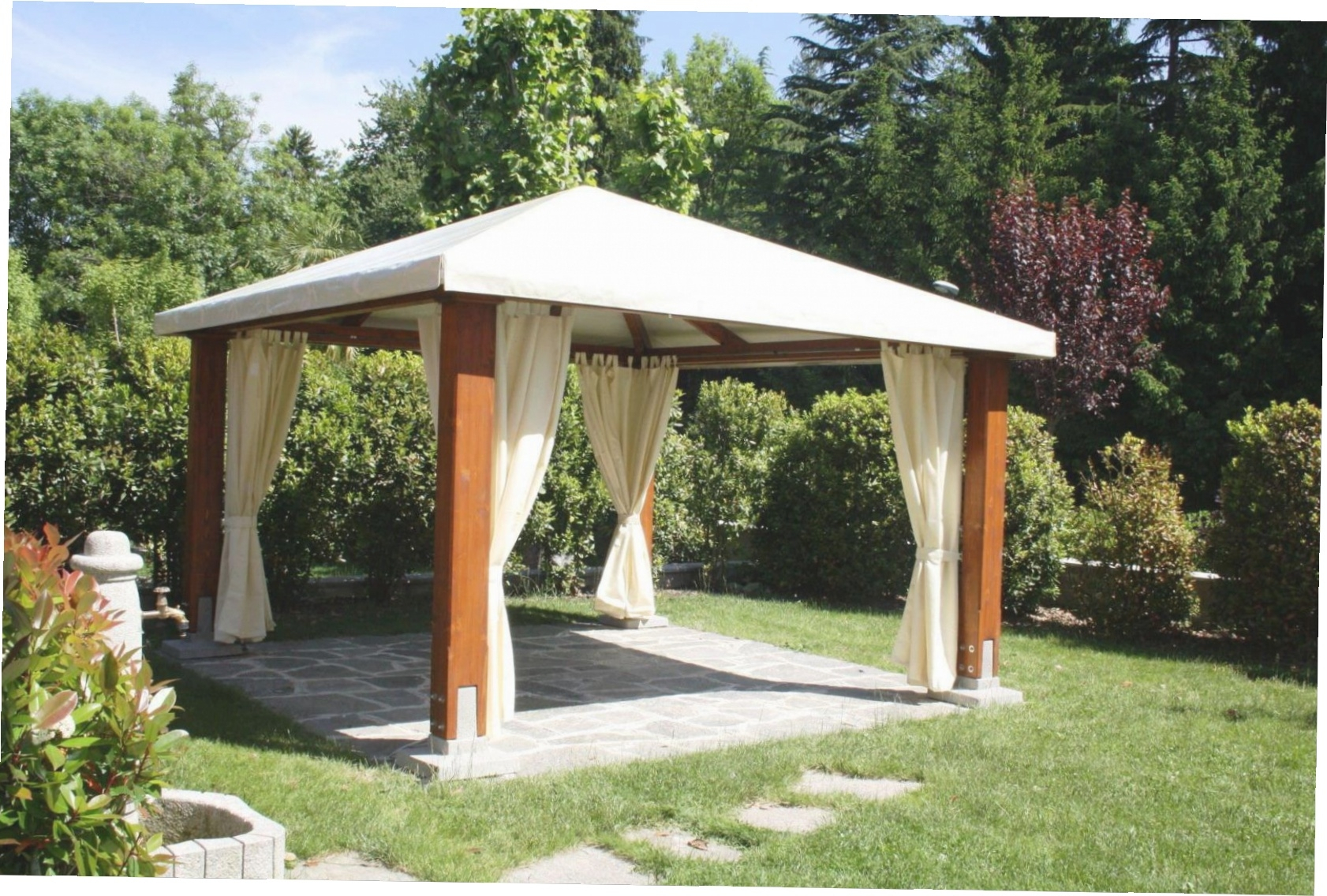 57 Outdoor Garden Gazebo Outdoor Garden Patio Gazebo Metal Frame for Backyard Gazebo Ideas