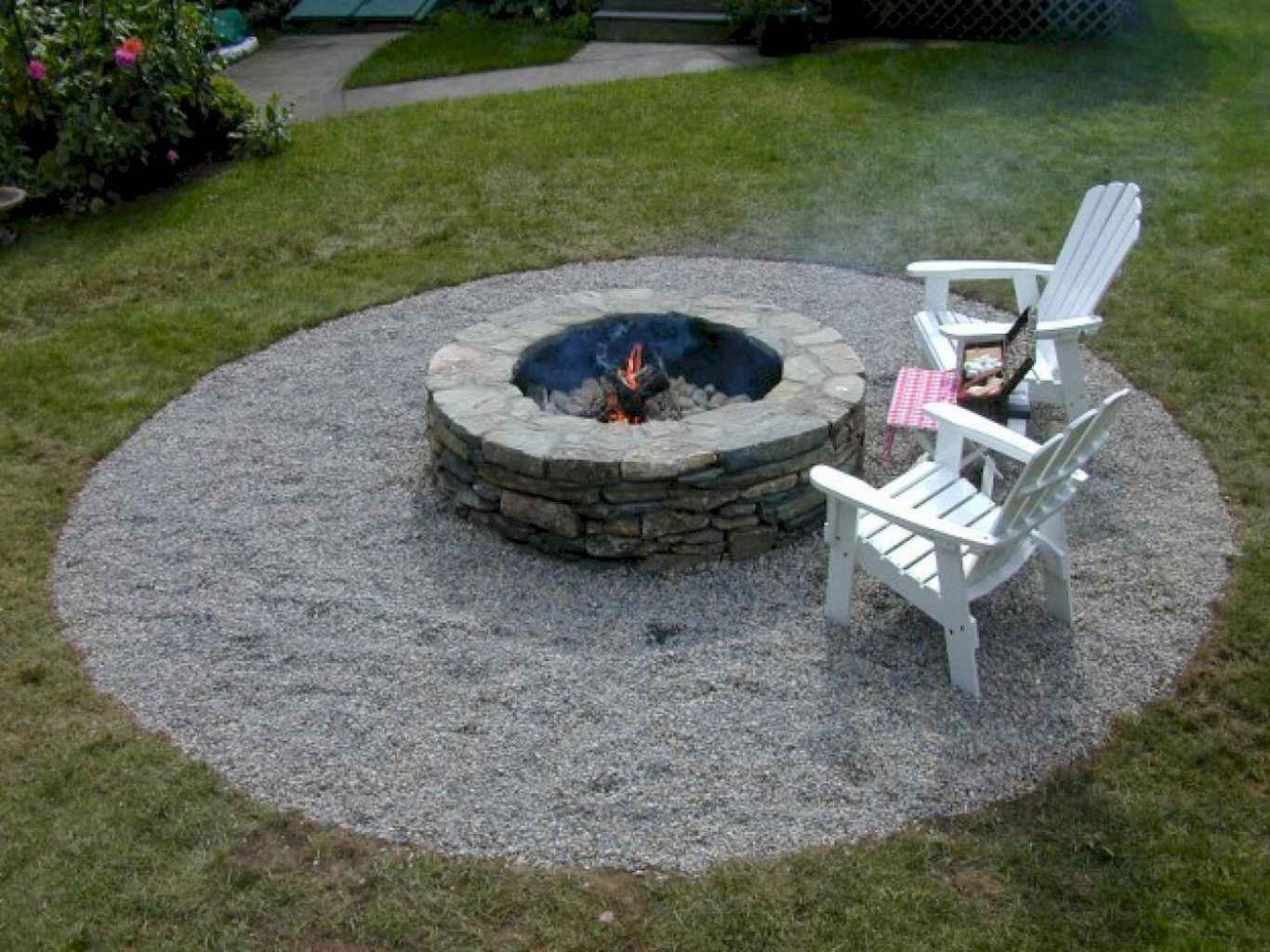 60 Beautiful Backyard Fire Pit Ideas Decoration And Remodel 9 throughout 14 Awesome Ways How to Improve Backyard Fire Pits Ideas