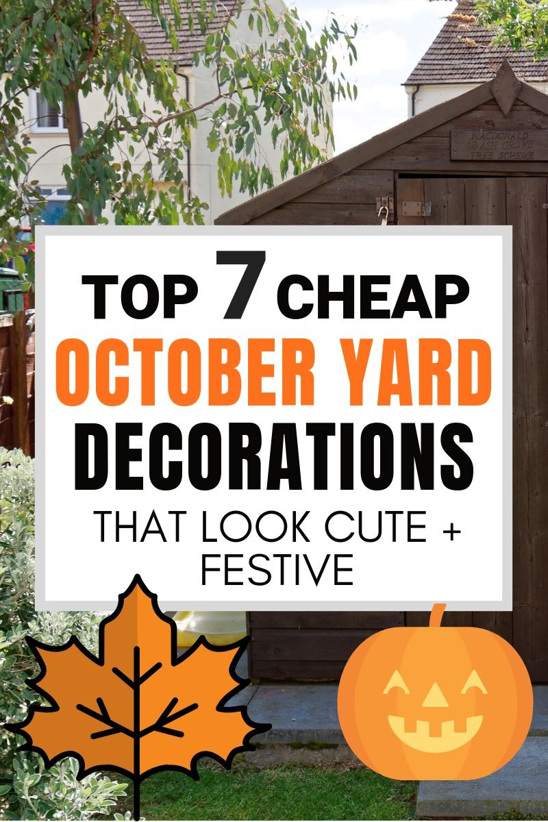 7 October Yard Decoration Ideas For Fall That Are Cute Cheap throughout Backyard Decoration Ideas
