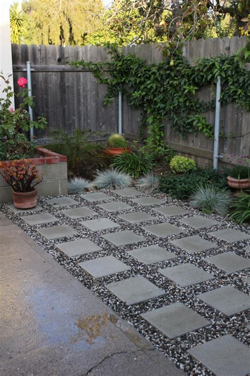 Amazing 45 Most Popular Backyard Paver Patio Design Ideas 2019 25 pertaining to 11 Smart Ideas How to Make Backyard Paving Ideas
