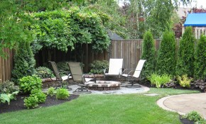 Amazing Ideas For Small Backyard Landscaping Great Affordable intended for Small Backyard Landscaping Ideas