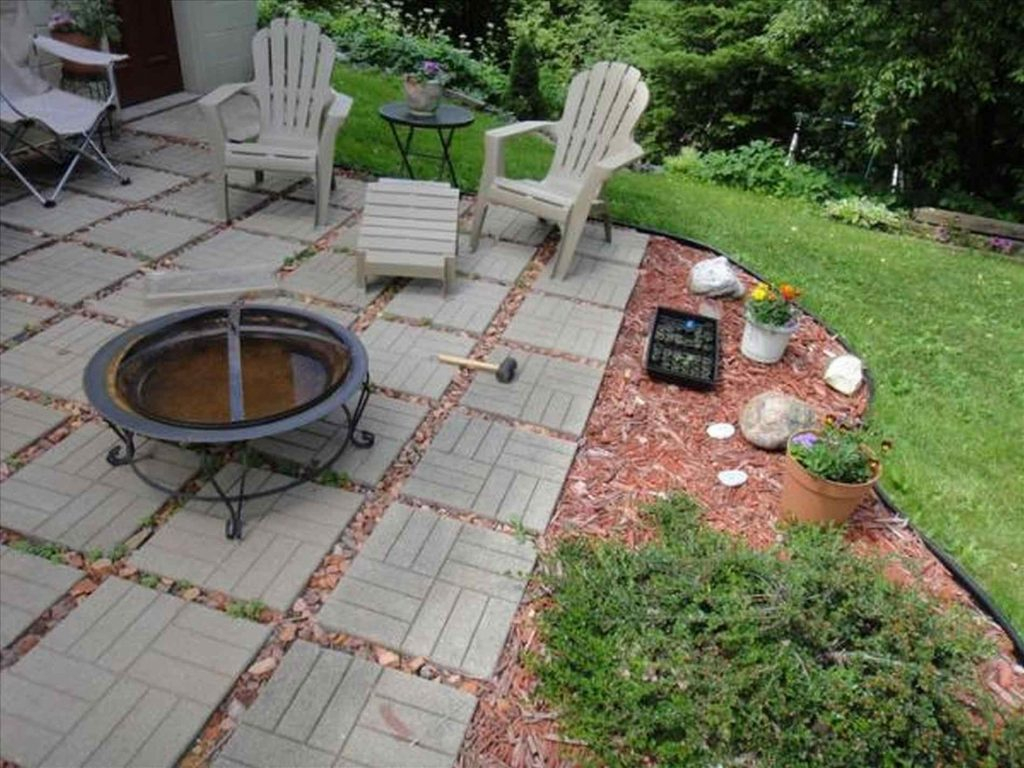 Awesome Patio Paver Installation Cost Patio Design Ideas pertaining to Cost Of Backyard Landscaping