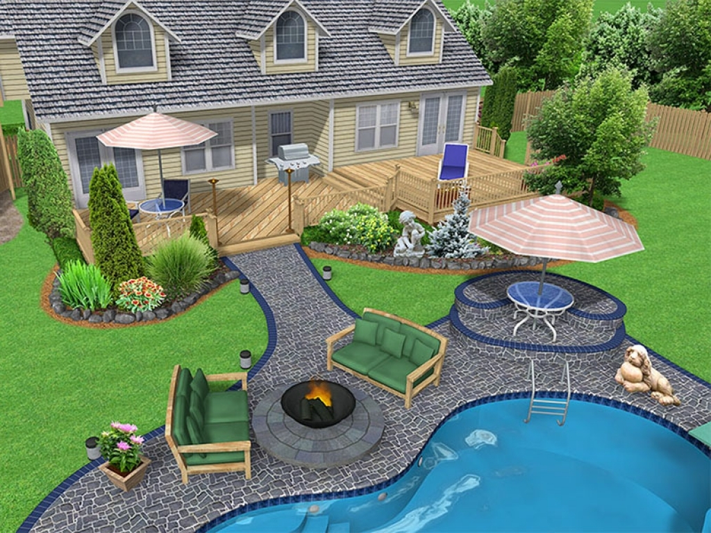 Backyard Big Design Ideas About Landscape Great Backyards People regarding 12 Genius Designs of How to Make Big Backyard Landscaping Ideas