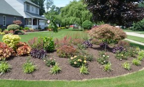 Backyard Corner Landscaping Ideas Youtube for Corner Backyard Landscaping Ideas