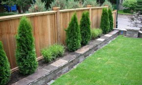 Backyard Landscaping With Privacy Fence Decor Its regarding 14 Smart Tricks of How to Make Backyard Privacy Fence