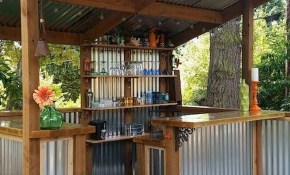 Backyard Patio Ideas 80 Bachelor Pad Backyard Patio Outdoor intended for 13 Awesome Tricks of How to Make Backyard Bar And Grill Ideas