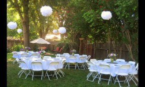 Backyard Wedding Reception Ideas Youtube intended for Simple Backyard Wedding Decorations
