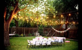 Backyard Weddings On A Budget Youtube intended for Simple Backyard Wedding Decorations